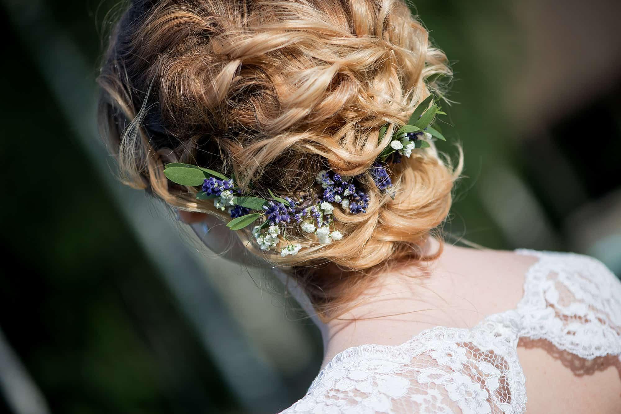 Wedding Hairstyle blonde hair