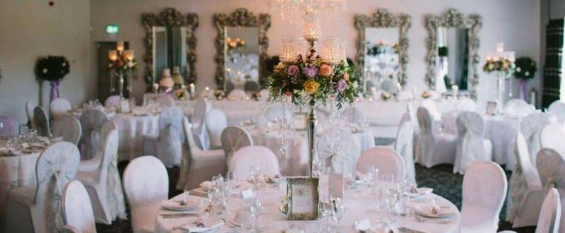 Brackenborough hotel wedding reception inside