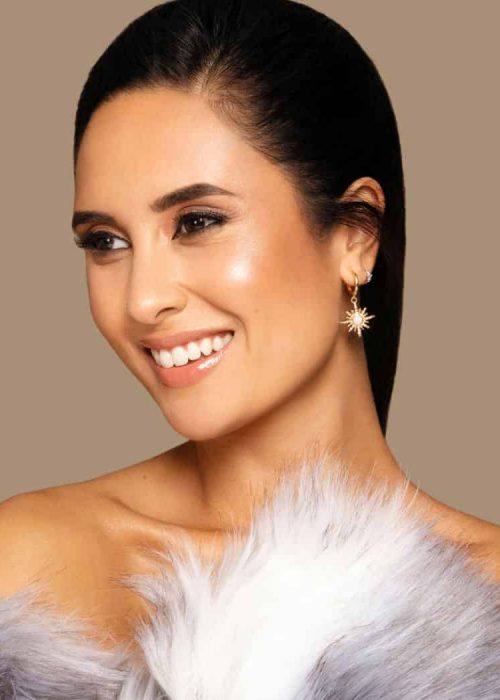 woman smiling