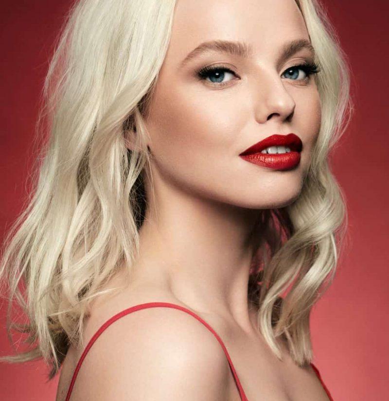 models lips